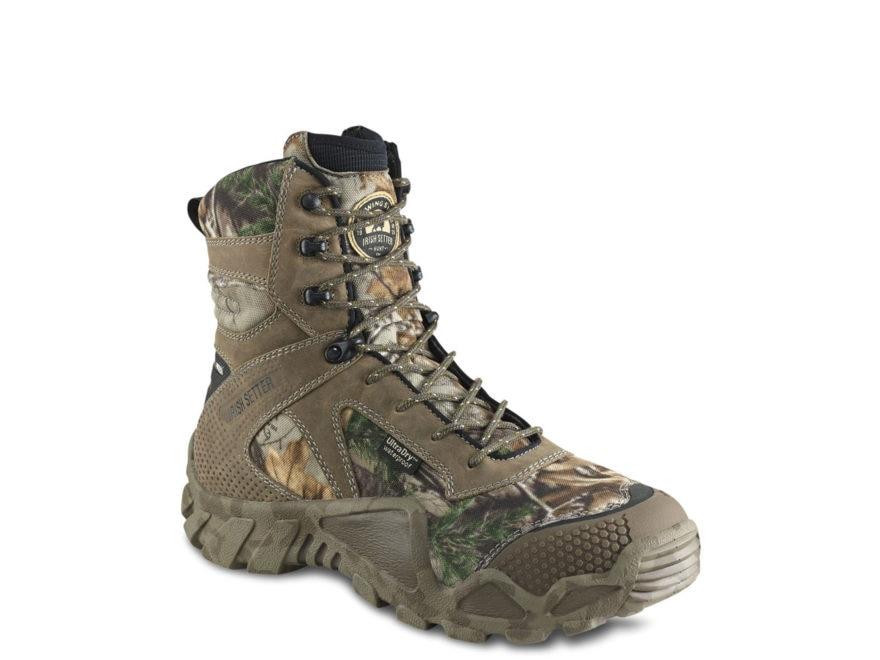 "Irish Setter VaprTrek 8"" Waterproof 400 Gram Insulated Hunting Boots Nylon and Leather ..."