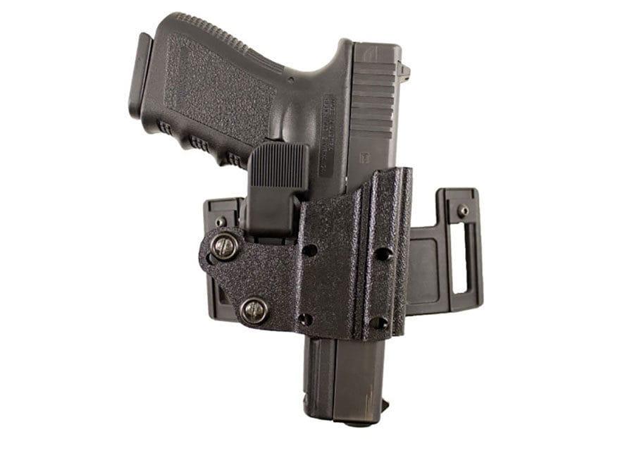 DeSantis Quick Safe Holster Ambi Glock 17, 19, 22, 23, 26, 27, 31, 32, 33, 36 Kydex