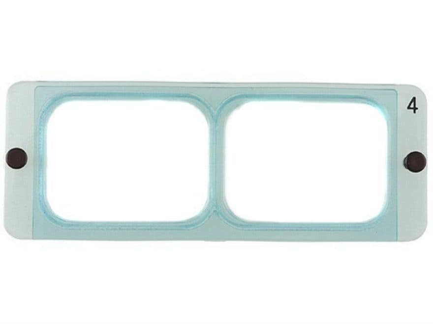 Donegan Optical OptiVISOR Magnifying Headband Visor Replacement Lens Plate 2X at 10""