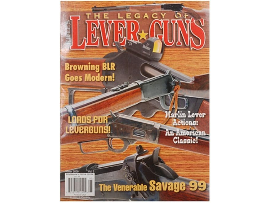 The Legacy of Lever Guns Volume 2 Special Edition Magazine by Rifle Magazine
