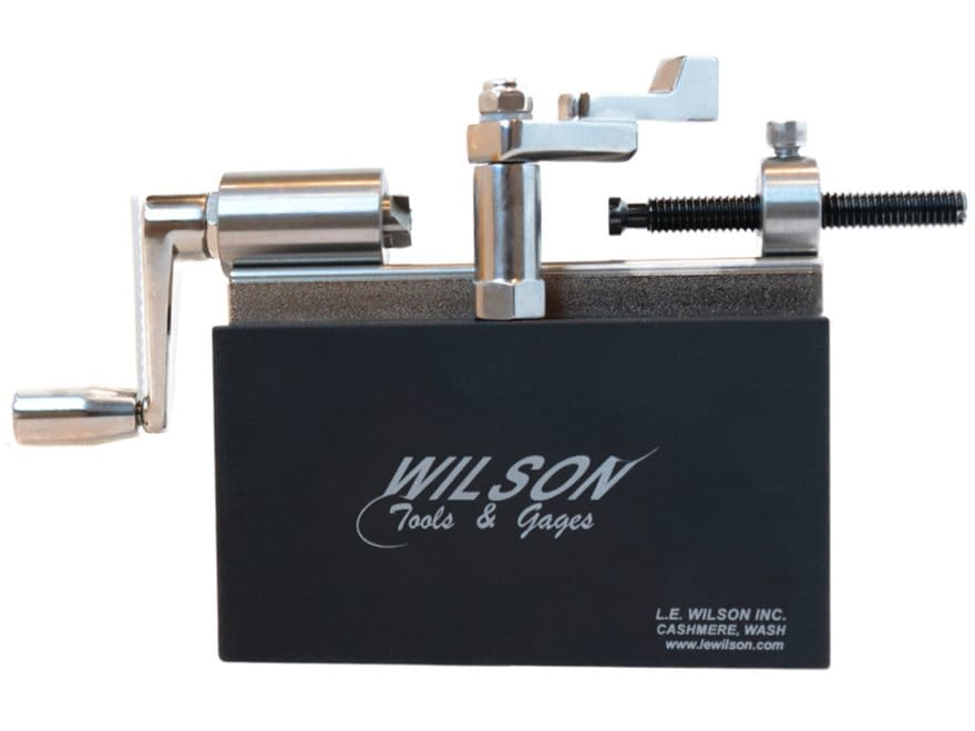 L.E. Wilson Case Trimmer Kit Stainless Steel