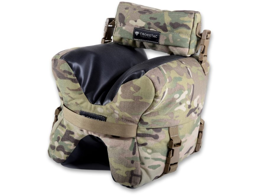 CrossTac X Bag Front and Rear Shooting Rest Bag Set Multicam