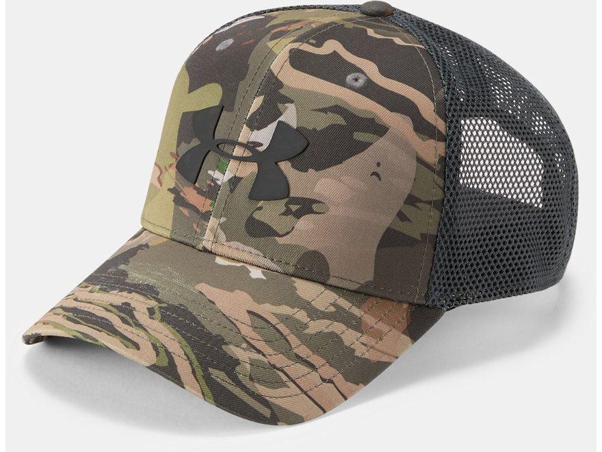 factory price c3f8b dc045 Under Armour Men s UA Camo 2.0 Mesh Back Logo Cap Polyester