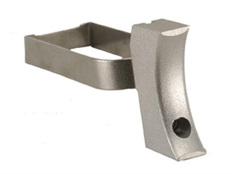 Cylinder & Slide Medium Solid Trigger 1911 Aluminum Silver