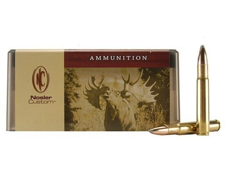Nosler Custom Ammunition 35 Whelen 225 Grain Partition Spitzer Box of 20