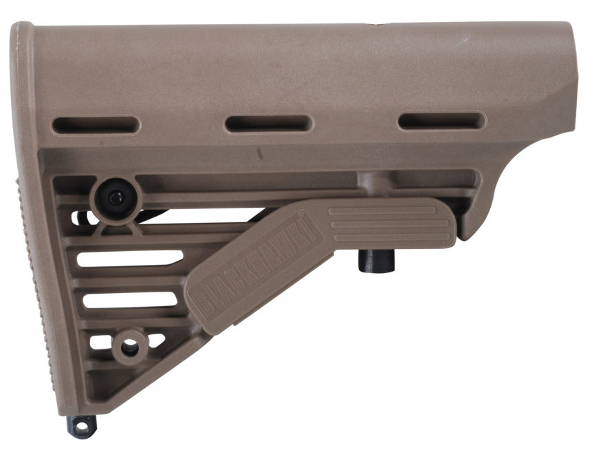 BLACKHAWK! Knoxx Stock M4 Collapsible AR-15, LR-308 Carbine Synthetic