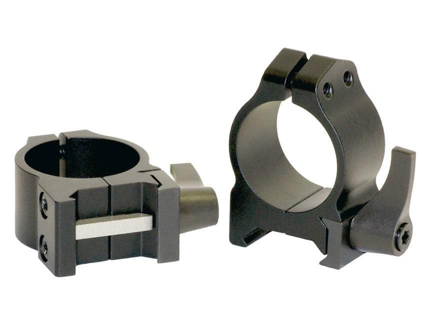 "Warne 1"" Maxima Quick-Detachable Weaver-Style Rings"