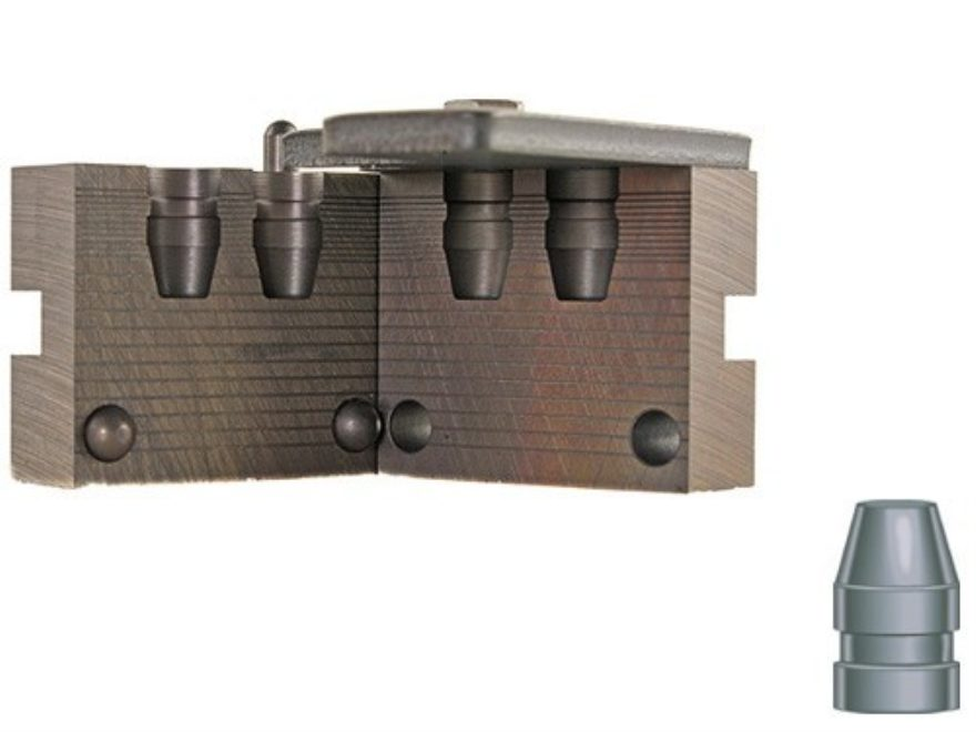RCBS 2-Cavity Bullet Mold 10mm-170-SWC 40 S&W, 10mm (401 Diameter) 170 Grain Semi-Wadcu...