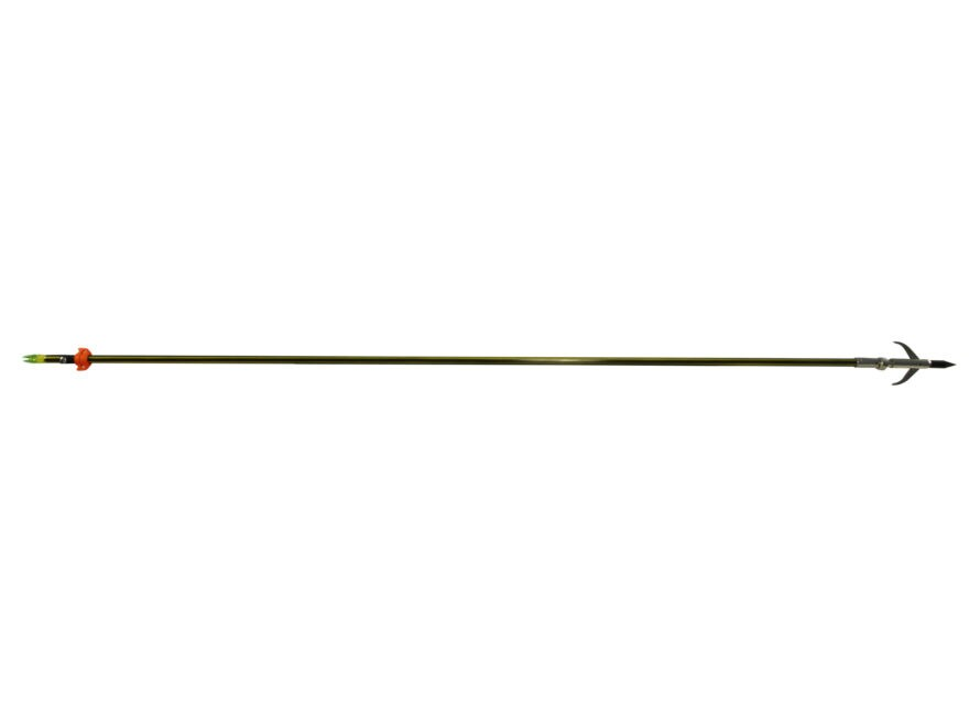 Cajun Archery Yellow Jacket Bowfishing Arrow with Safety Slide and Garpoon Point
