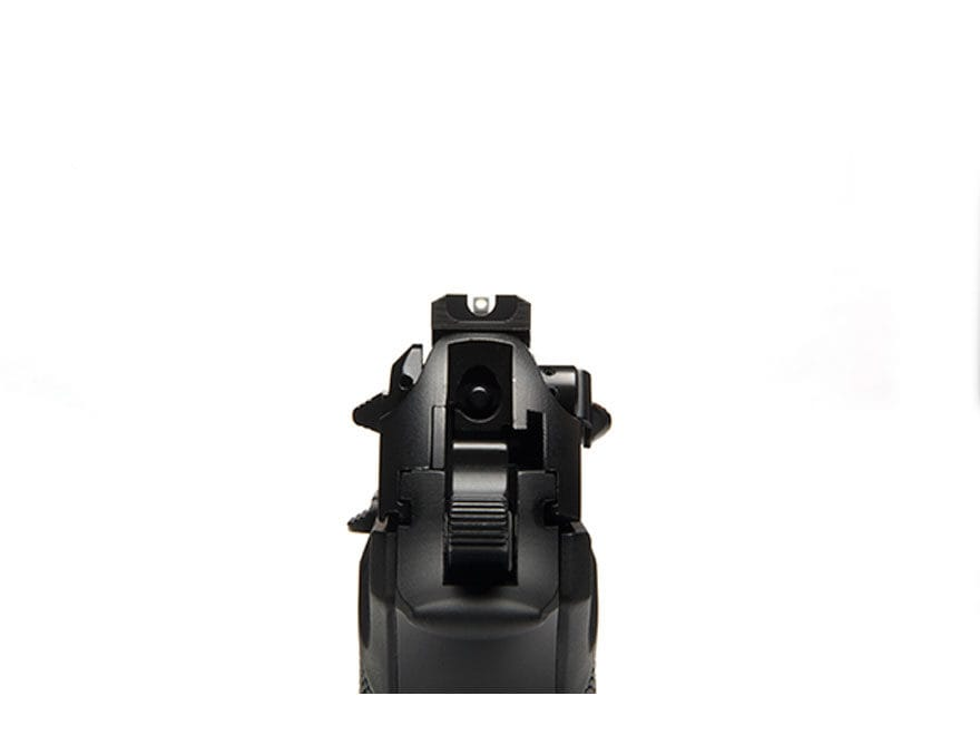 "Wilson Combat Battlesight Rear Sight Serrated Blade Beretta 92FS, 96FS .280"" Steel Black"