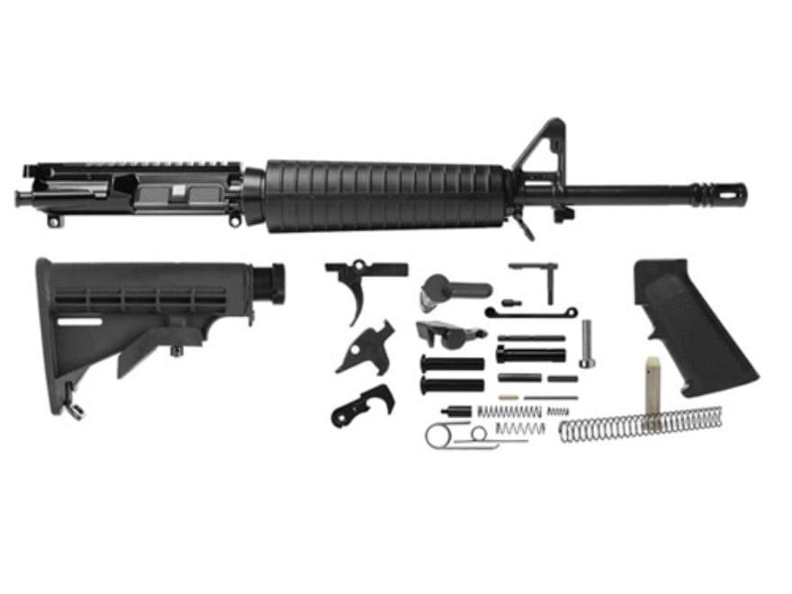 "Del-Ton AR-15 Mid-Length Carbine Kit  5.56x45mm NATO 1 in 9"" Twist 16"" Chrome Lined Med..."