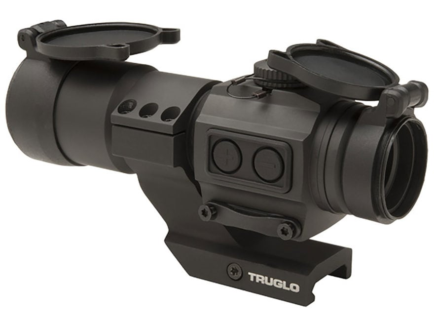 TRUGLO Tru Tec XS Red Dot Sight 1x 30mm 2 MOA Dot with Cantilever Mount Matte