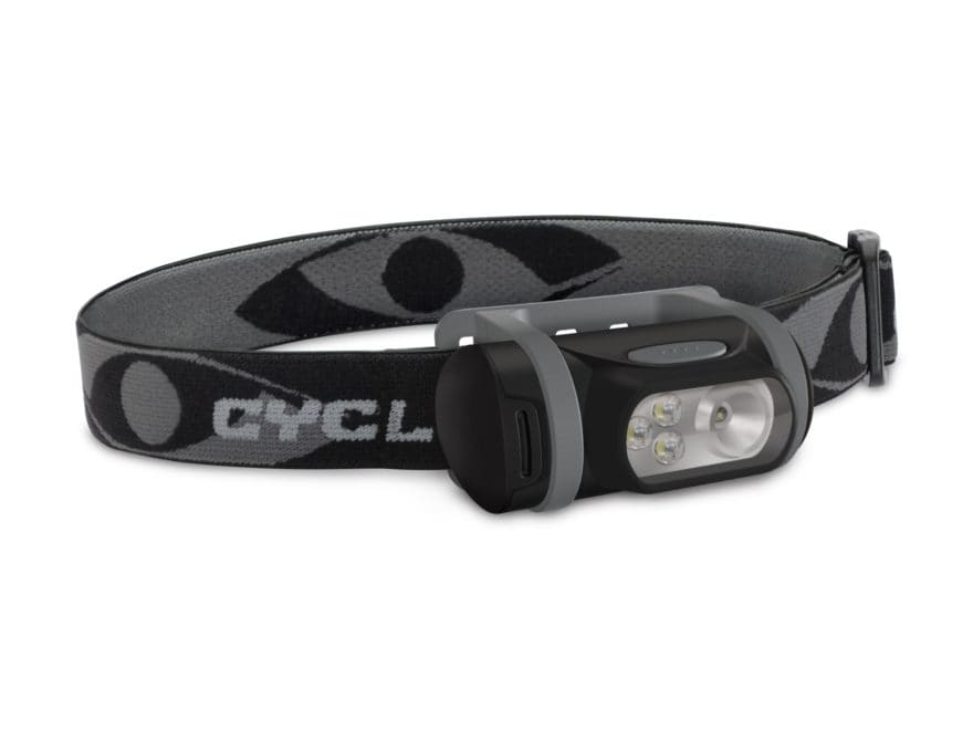 Cyclops Titan XP Headlamp LED with 3 AAA Batteries Polymer Black and Gray