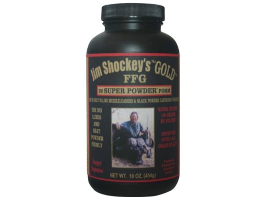 American Pioneer Jim Shockey's Gold Super Black Powder Substitute 1 lb