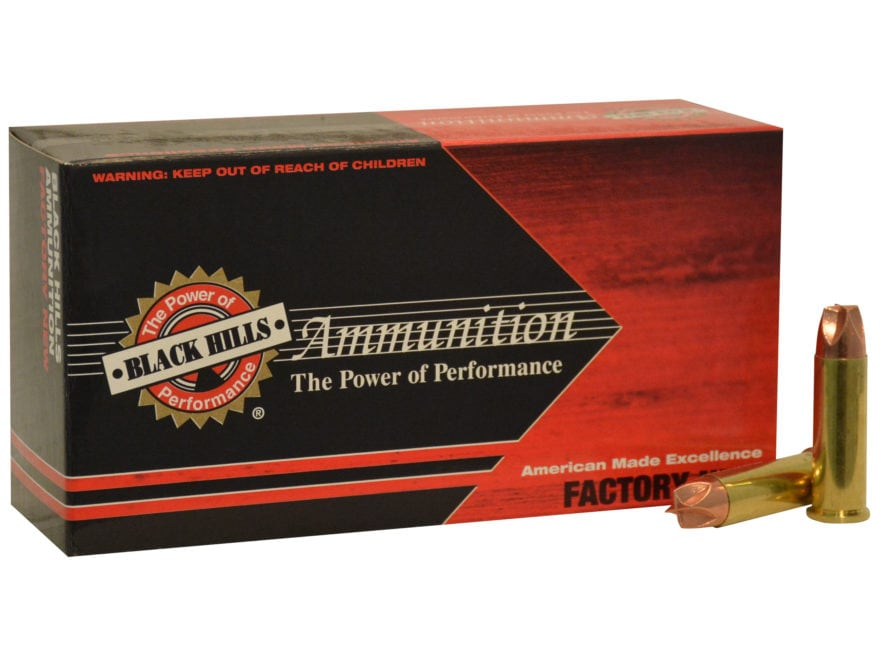 Black Hills HoneyBadger Ammunition 38 Special +P 100 Grain Lehigh Xtreme Defense Lead-F...