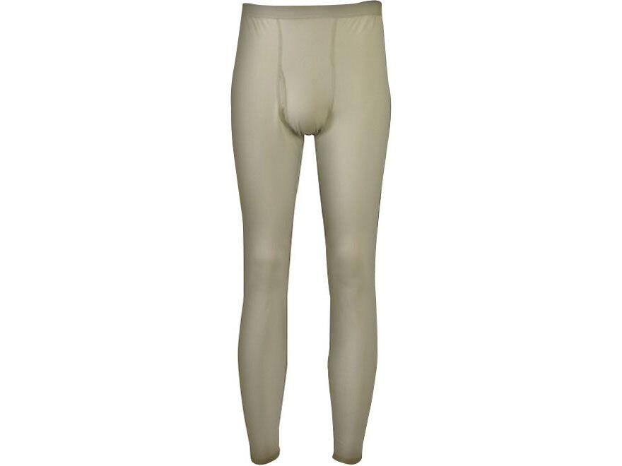 Military Surplus Gen III Level 1 Silk-Weight Base Layer Pants Sand
