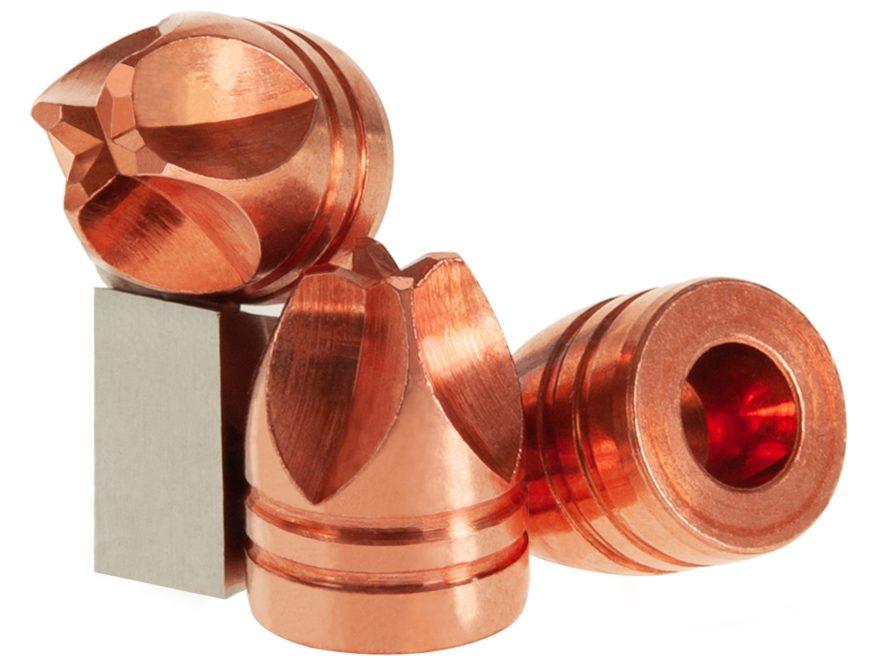 Lehigh Defense Xtreme Defense Bullets 45 ACP (451 Diameter) 120 Grain Solid  Copper Fluid Transfer Monolithic Lead-Free Box of 50