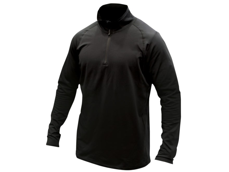 MidwayUSA Men's Level Two 1/4 Zip Long Sleeve Base Layer Shirt