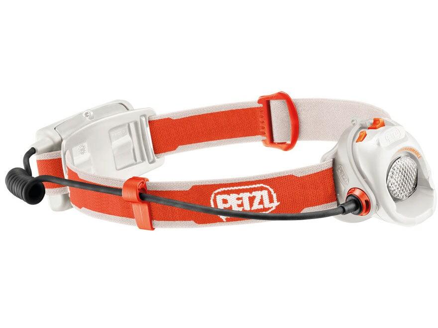 Petzl MYO Headlamp LED with 3 AA Batteries Orange