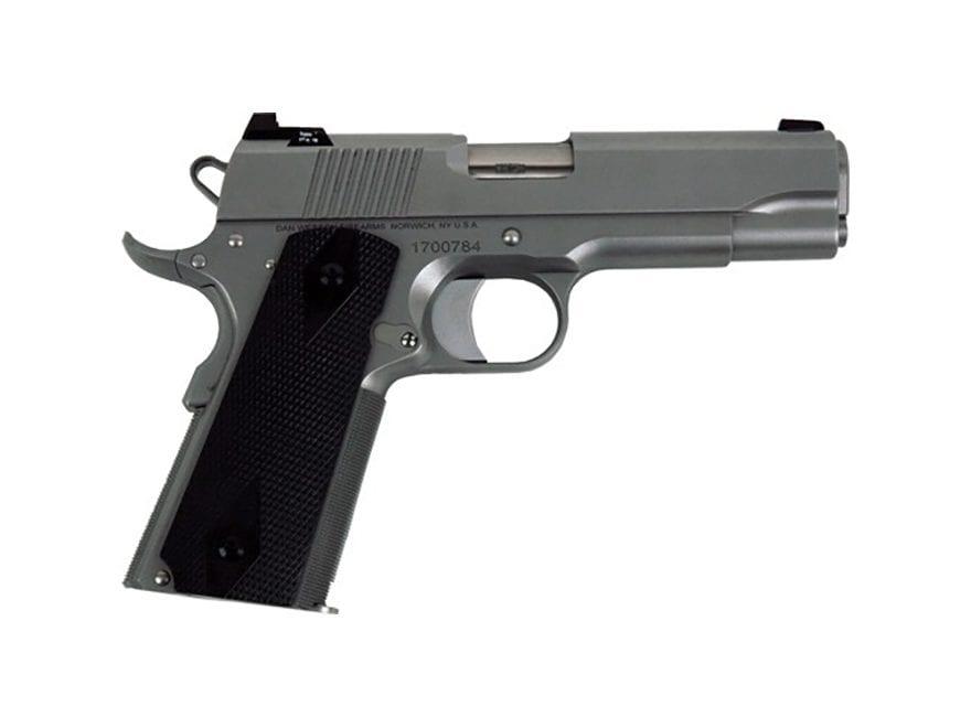 "CZ Dan Wesson 1911 Valor Commander Pistol 4.25"" Barrel Texas Edition Stainless Steel G10"