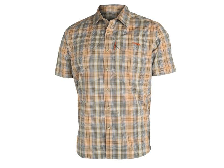 Sitka Gear Men's Globetrotter Shirt Short Sleeve Cotton/Polyester
