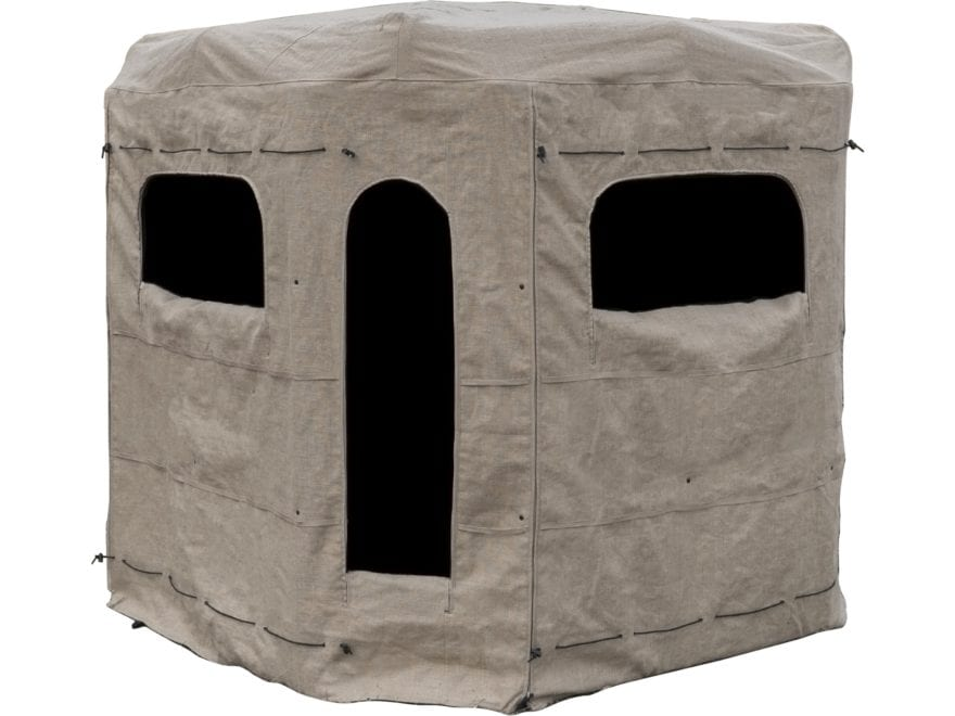 Redneck Blinds Soft Side Low Profile Replacement Cover & Curtain Burlap