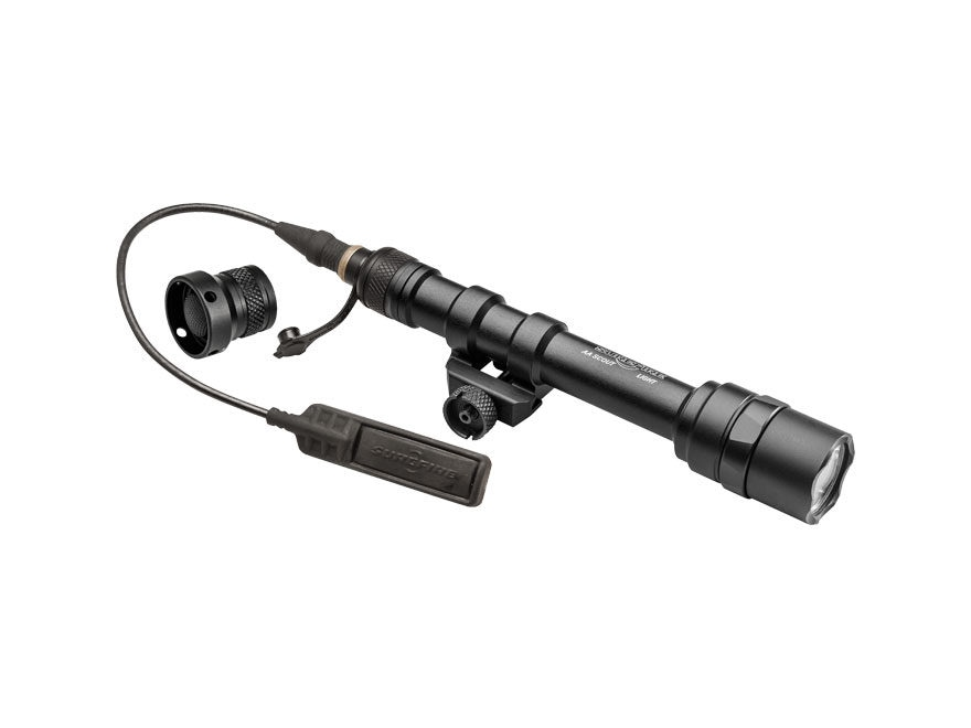 Surefire M600DF Ultra Scout Light Weapon Light LED with 2 CR123A Batteries Aluminum Black