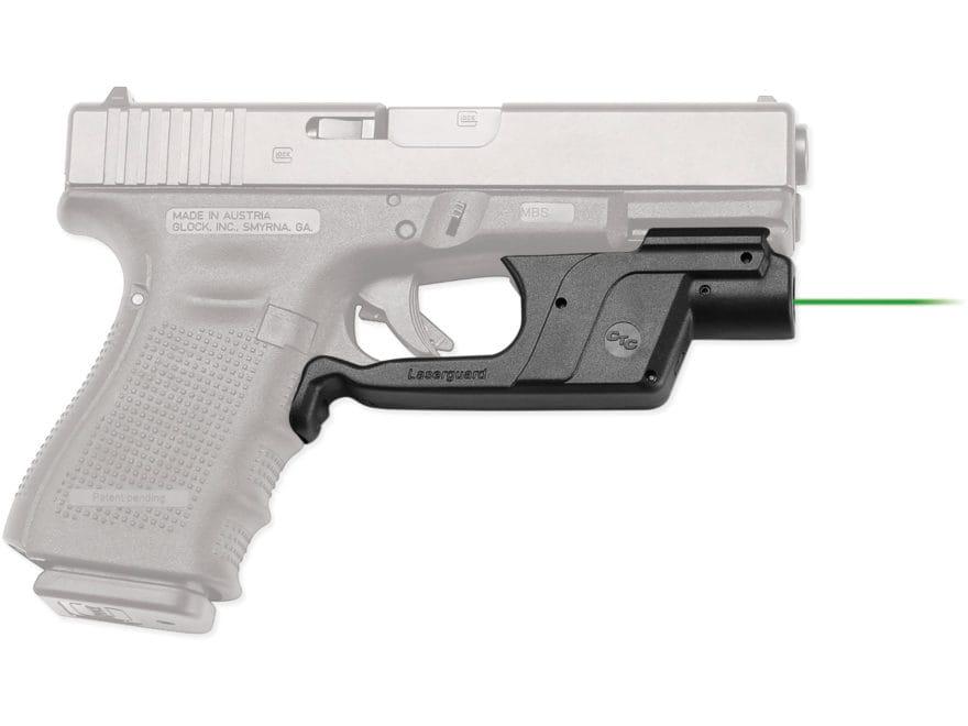 Crimson Trace Laserguard Glock Gen-3 17, 19, 22, 23, 31, 34, 35, 37, 38 and Gen-4 17, 1...