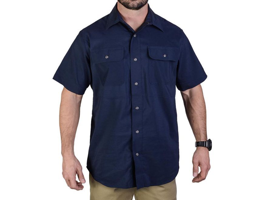 Vertx Men's Guardian Button-Up Shirt Short Sleeve 37.5 Polyester
