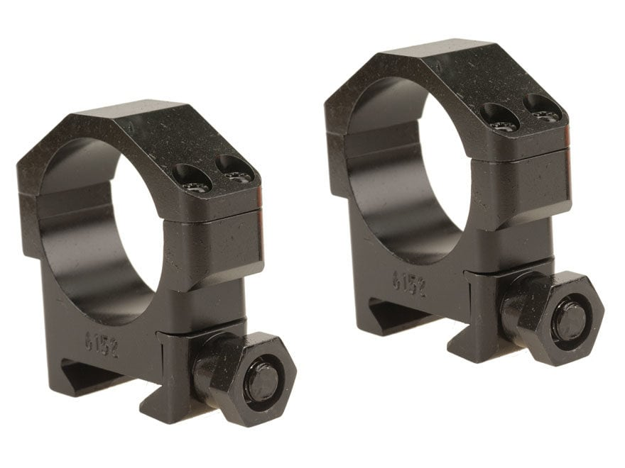Badger Ordnance Picatinny-Style Maximized Rings Matte