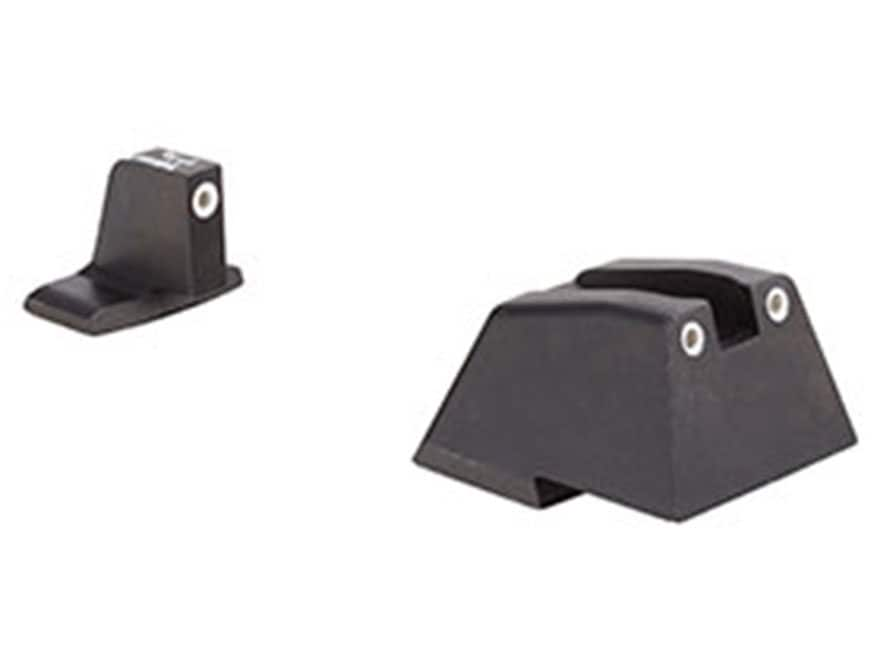 Trijicon Bright & Tough Suppressor Night Sight Set HK 45C, P30, VP9, VP40 Steel Matte 3...