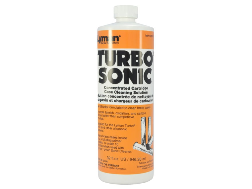 Lyman Turbo Sonic Ultrasonic Case Cleaning Solution Liquid