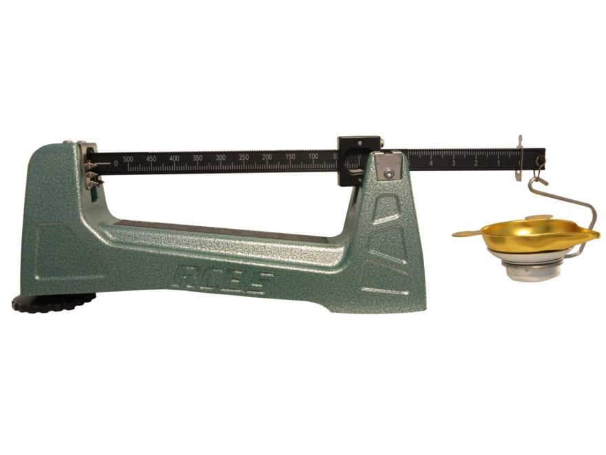 RCBS M500 Balance Beam Mechanical Powder Scale 505 Grain Capacity