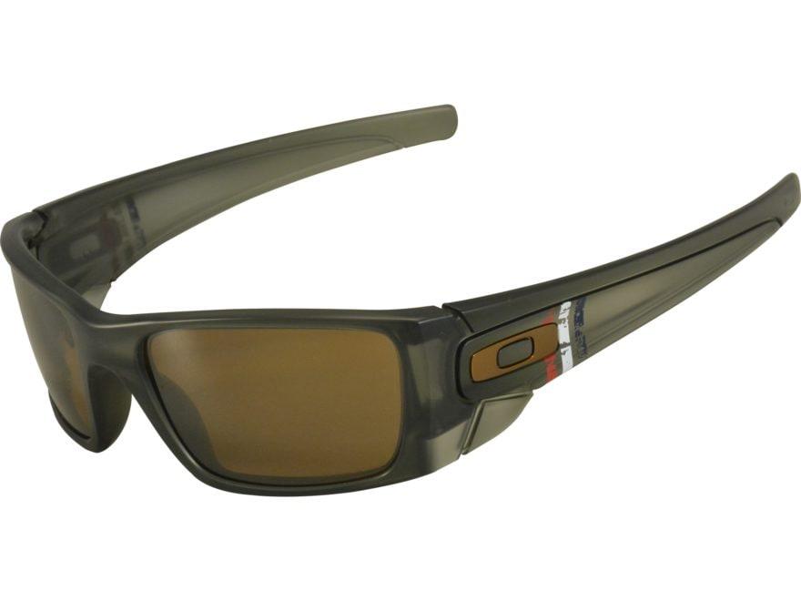 Oakley SI Fuel Cell Uncle Sam Sunglasses Matte Olive Ink Frame/Prizm Tungsten Lens