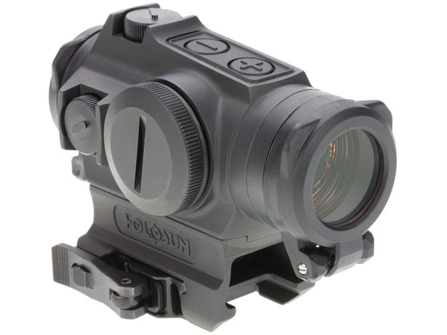 Holosun Red Dot Sight 1x 20mm 65 MOA Circle with 2 MOA Dot Weaver-Style Low & High Moun...