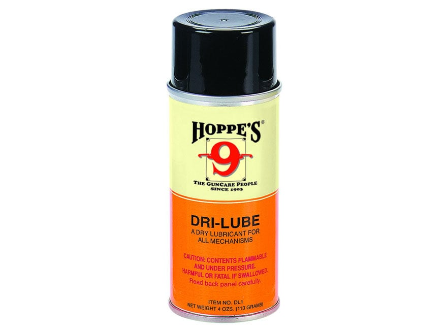 Hoppe's #9 Dri-Lube with Teflon 4 oz Aerosol