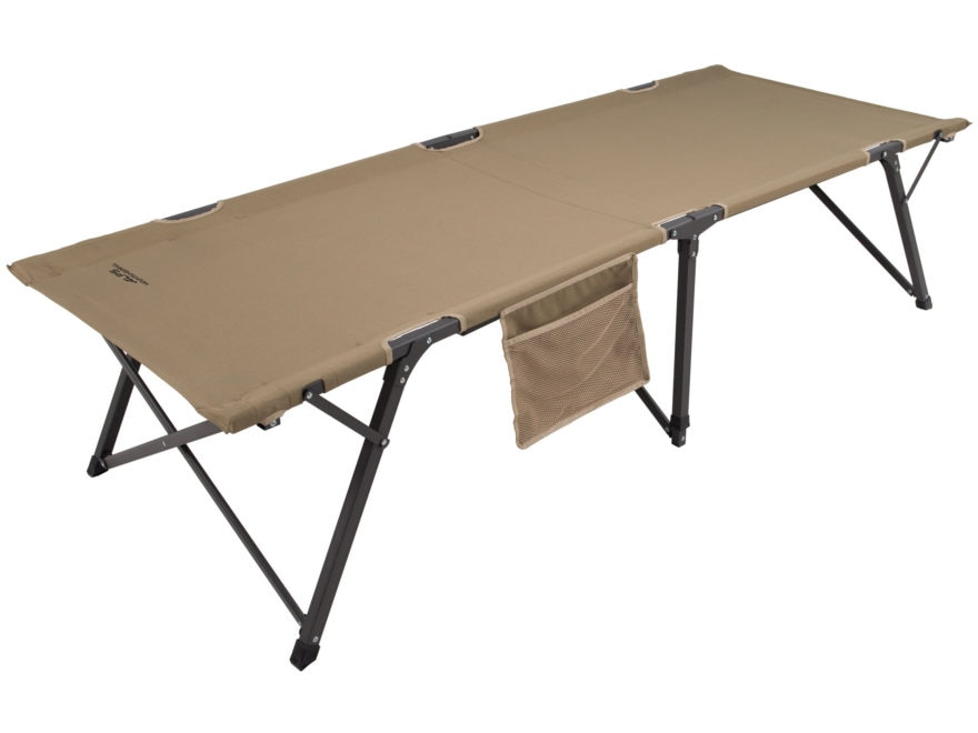 ALPS Mountaineering Escalade Camp Cot Large Aluminum and Polyester Khaki