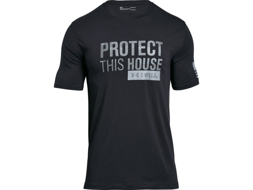 Under Armour Men's UA Freedom Protect This House 2.0 T-Shirt Short Sleeve Charged Cotton
