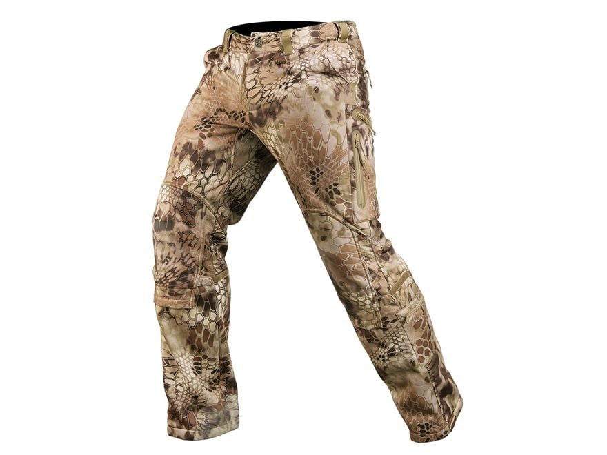 Kryptek Men's Cadog 2 Windproof Softshell Pants Polyester