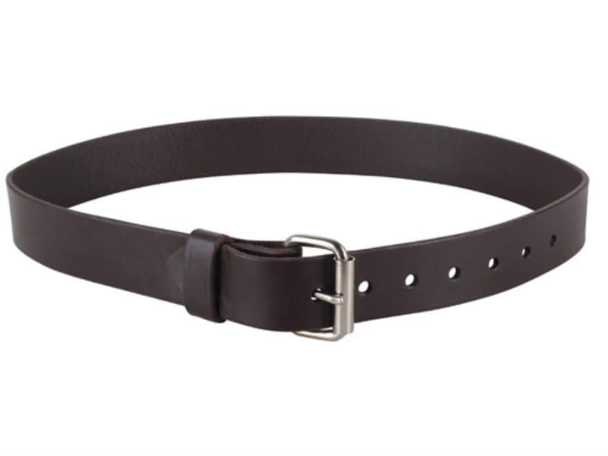 "Lenwood Leather GP Belt 1.5"" Steel Buckle Leather"