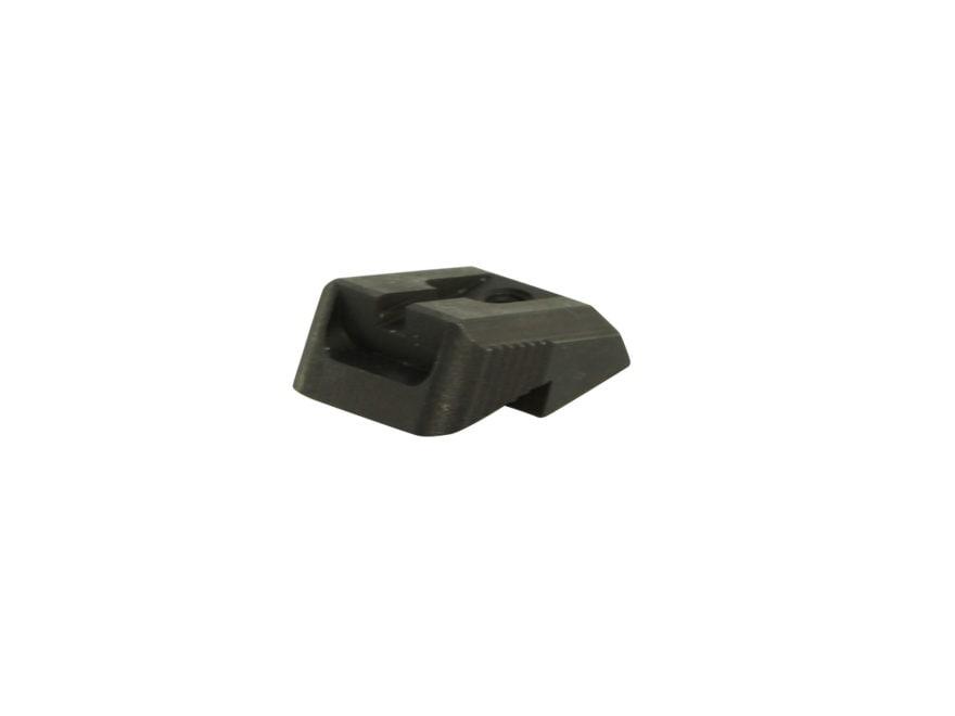 Ed Brown Rear Sight Fixed Low Profile Plain Steel Black