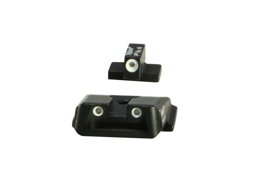 Trijicon Bright & Tough Night Sight Set S&W M&P Shield, Shield M2.0 3-Dot Tritium Green