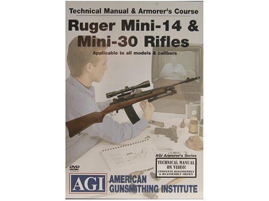 american gunsmithing institute agi technical manual mpn 1154 rh midwayusa com scm mini 30 manual ruger mini 30 manual