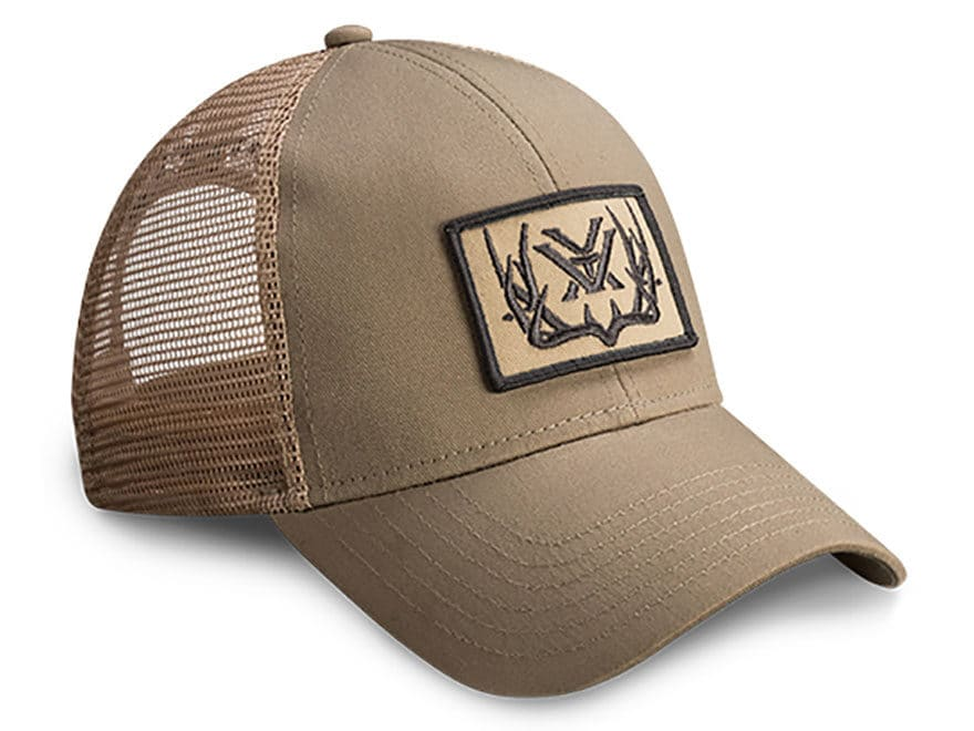 Vortex Optics Mule Deer Mesh Back Logo Cap Polyester Tan