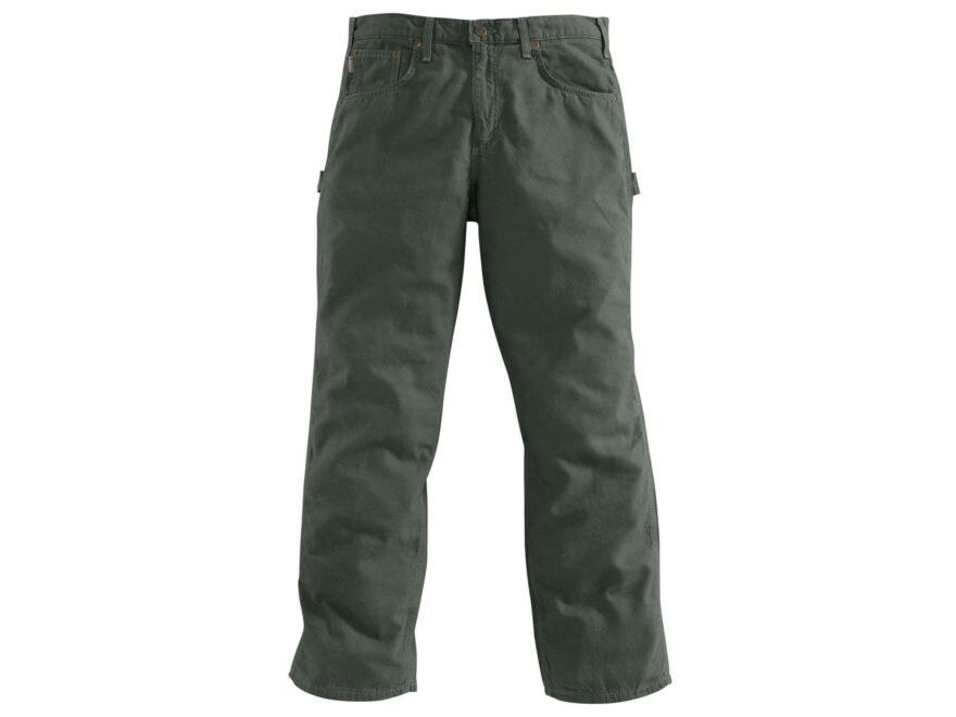 Carhartt Men's Loose-Original Fit Canvas Carpenter Jeans Cotton