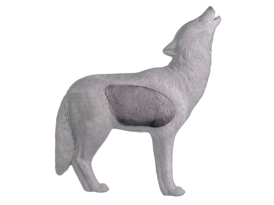 Rinehart Howling Gray Wolf 3D Foam Archery Target Replacement Insert