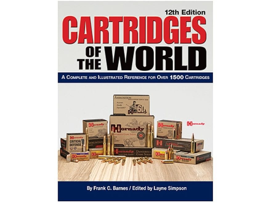 """Cartridges of the World, 12th Edition"" Book by Frank Barnes"