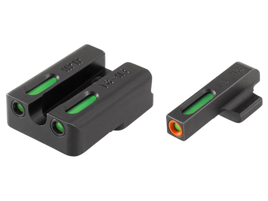 TRUGLO TFX Pro Sight Set HK 45, 45 Tactical, P30, P30L, VP9, VP40 Tritium / Fiber Optic...