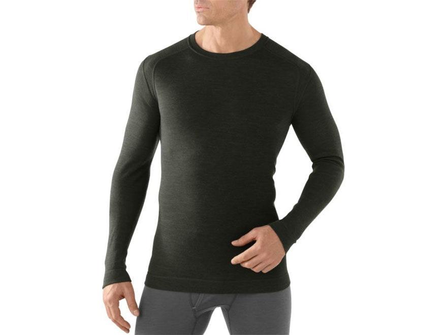 Smartwool Men's NTS Mid 250 Crew Long Sleeve Base Layer Shirt Merino Wool