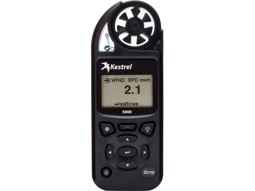 Kestrel 5000 Electronic Hand Held Weather Meter Black